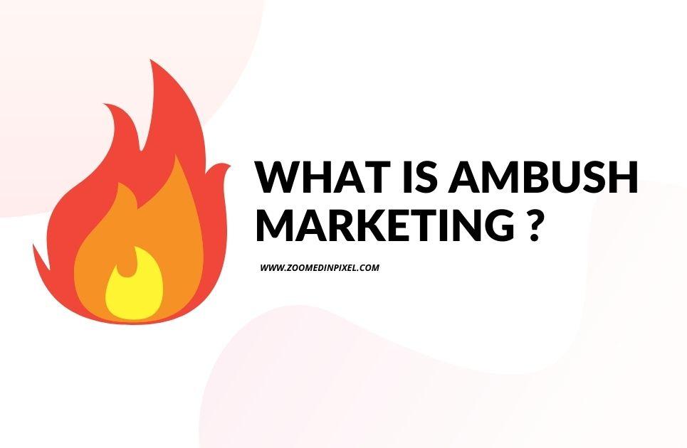 what is ambushhttps://www.youtube.com/playlist?list=PL5mqcClOuweVm4lXXpEGQV16U1fqTwvas marketing